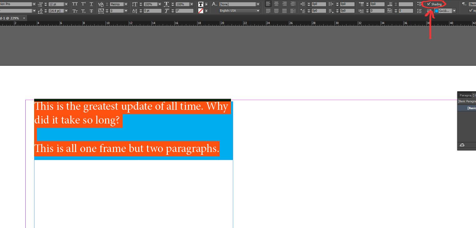 indesign cs6 change document language