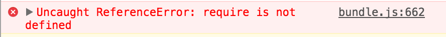 referenceerror document is not defined webpack