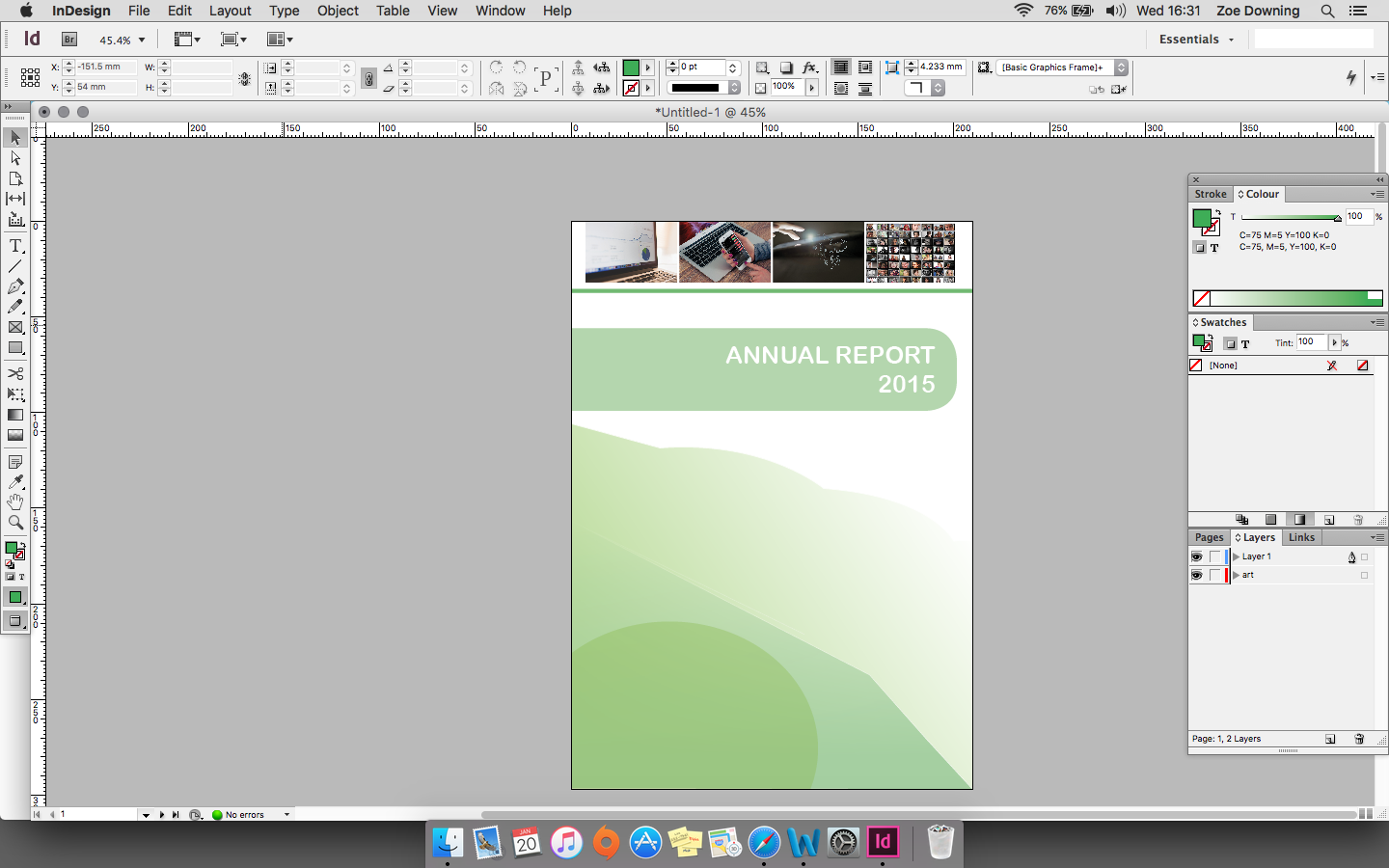 how to duplicate a document in indesign