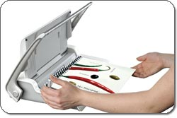 how to comb bind a document