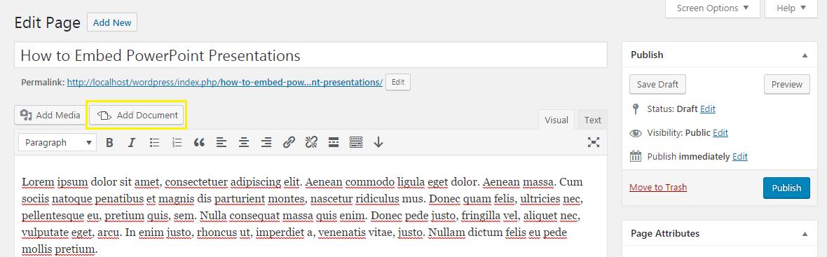 embed any document wordpress plugin