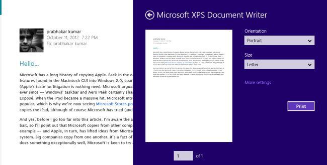 xps document viewer windows 7