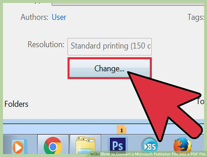 how to convert publisher document to pdf