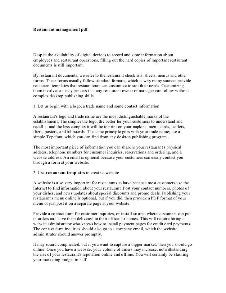 hotel management system documentation pdf