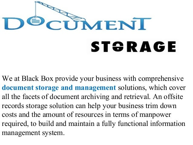 document management companies in dubai