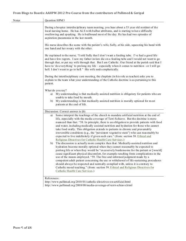 hospice nursing documentation examples
