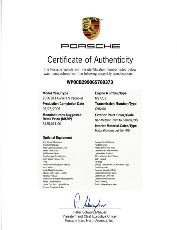 certified copy of original document