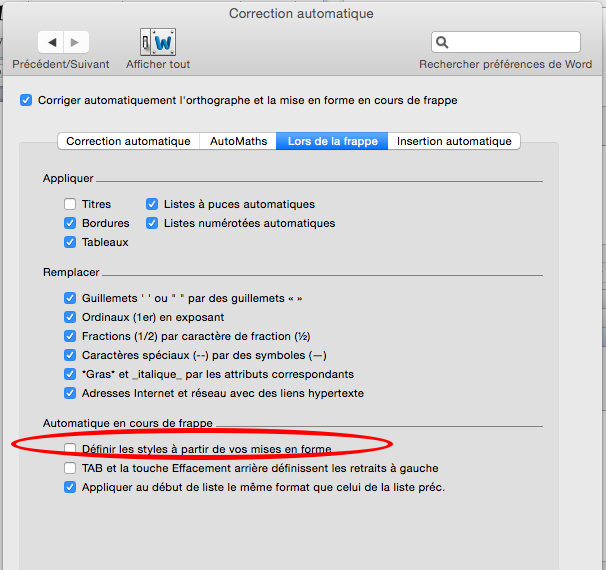 on mac word how to un update a document
