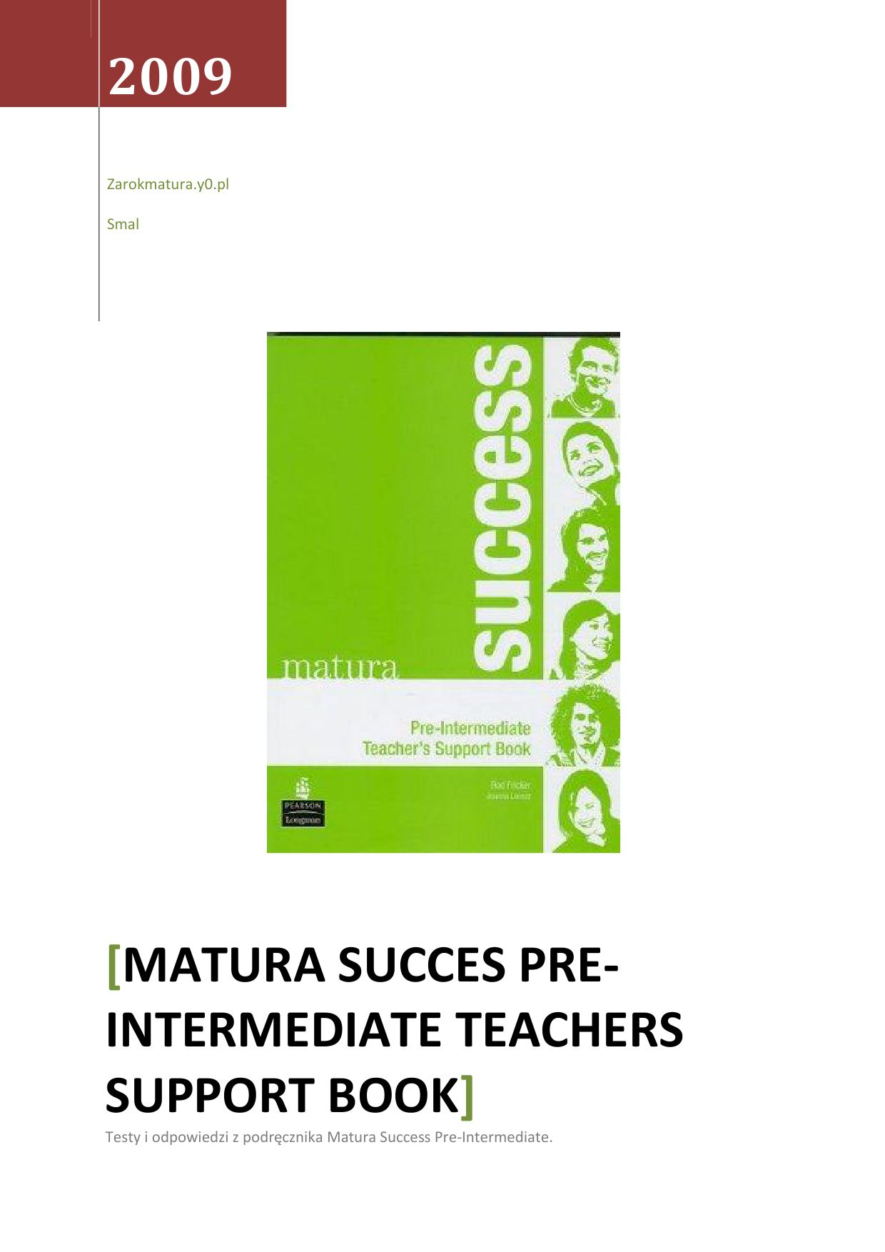 intermediate student language documentation