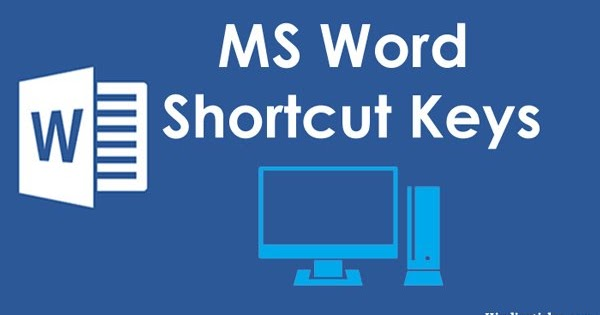 shortcut for new word document