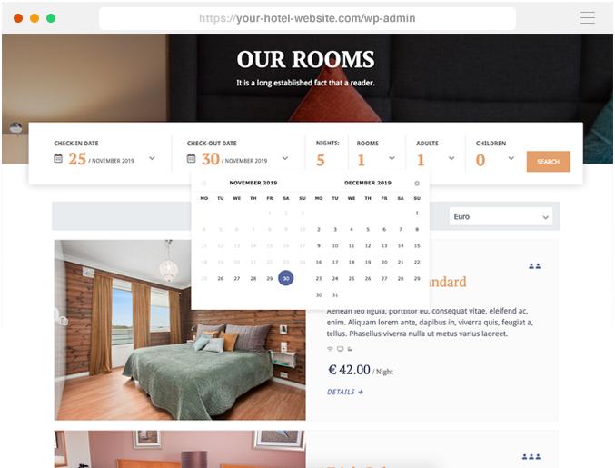 hotel reservation and billing system documentation