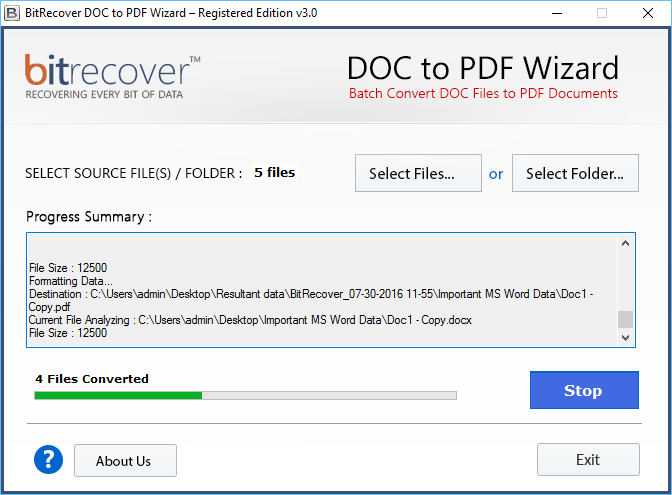 convert ms word document to pdf file