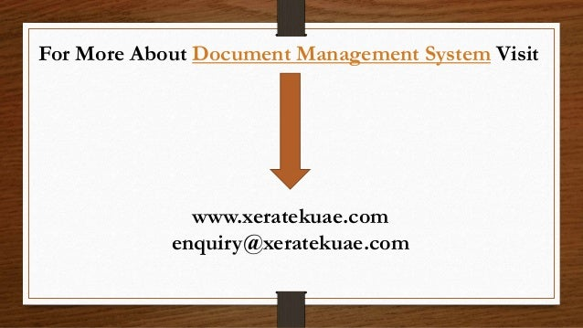 document management system features comparison