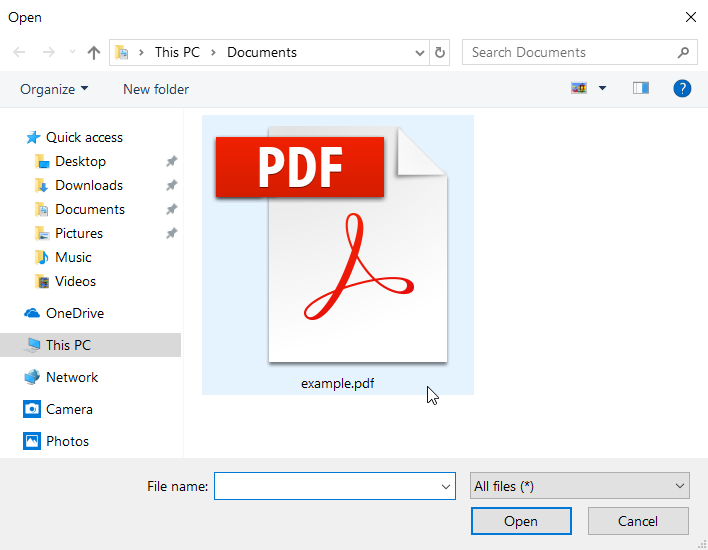 convert pdf scanned document to excel online