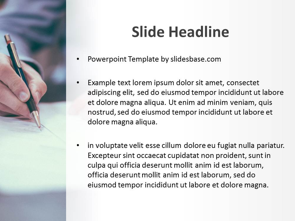 free powerpoint slides with document mock up