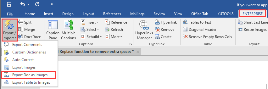 how to shrink a word document file size