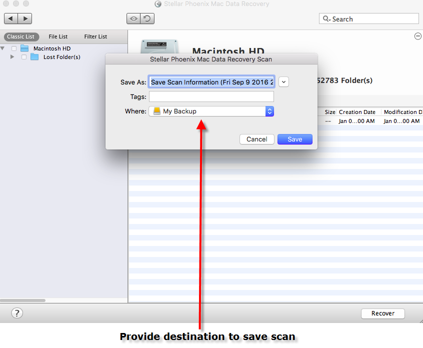 how to recover file save over document