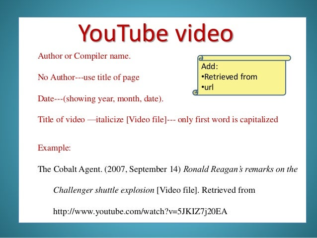 how to document a website in apa