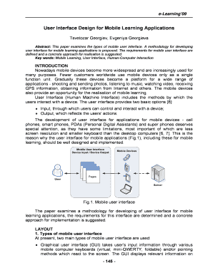 requirement specification document for mobile application