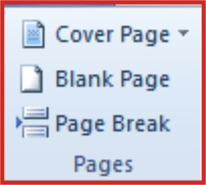 add a blank page to word document