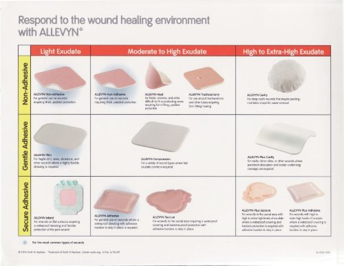 wound dressing documentation example