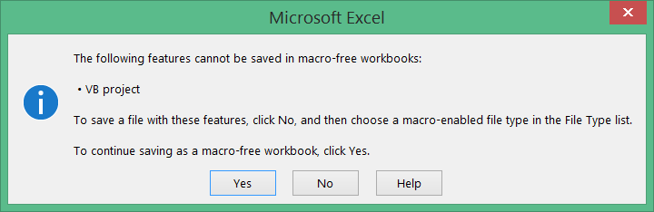 excel document not saved cannot save as