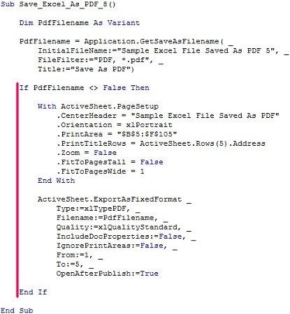 vba code save word document