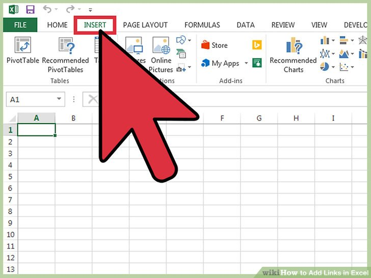 how to insert excel file in to word document