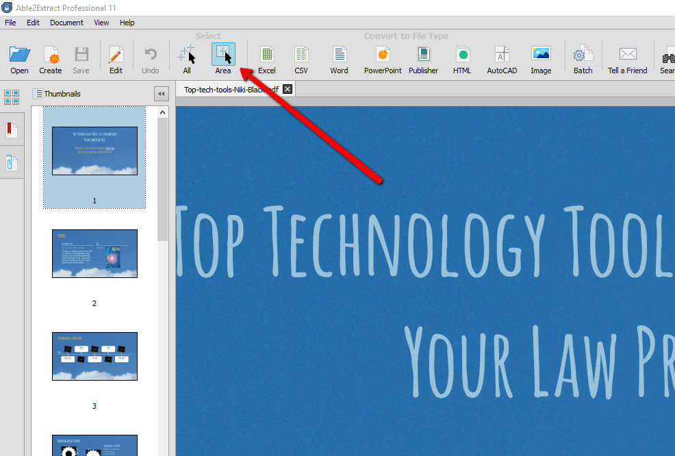 save a document as pdf to be able to edit
