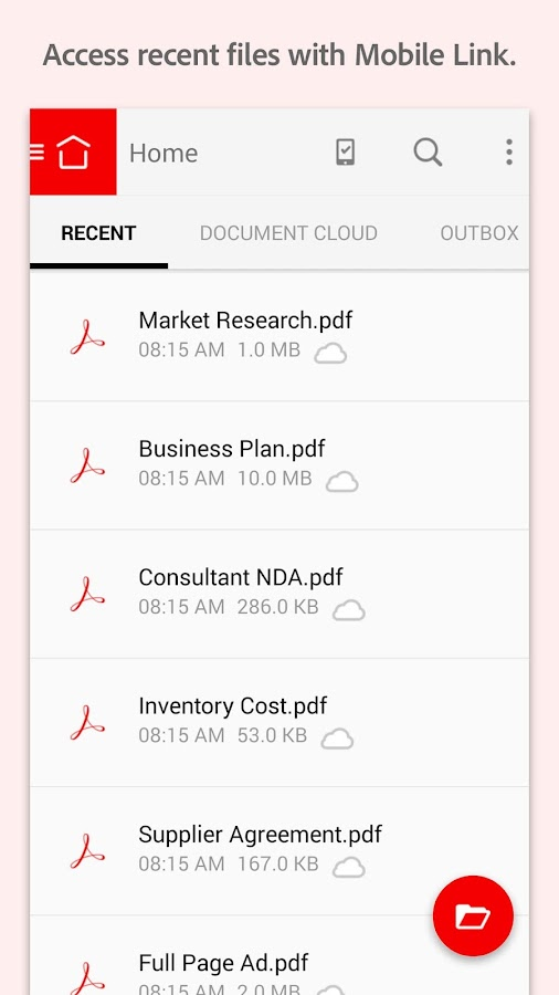 adobe document reader for android
