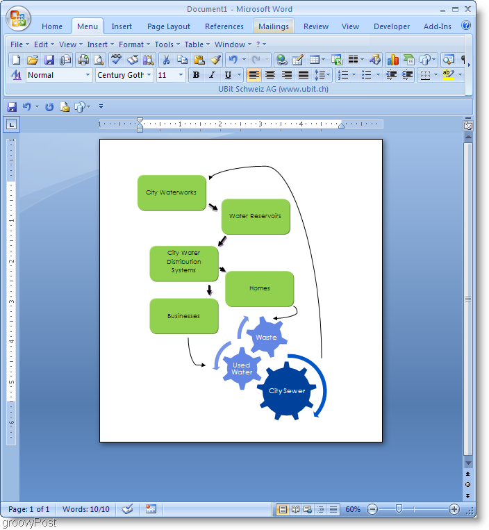 create a word document in microsoft flow