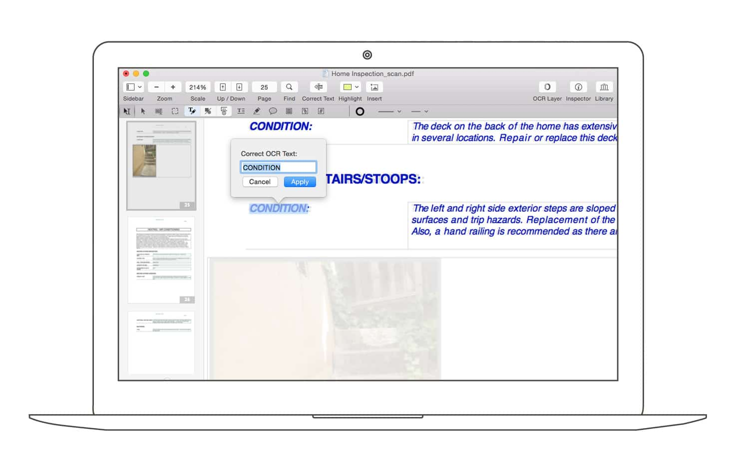 how to edit a scanned document on mac