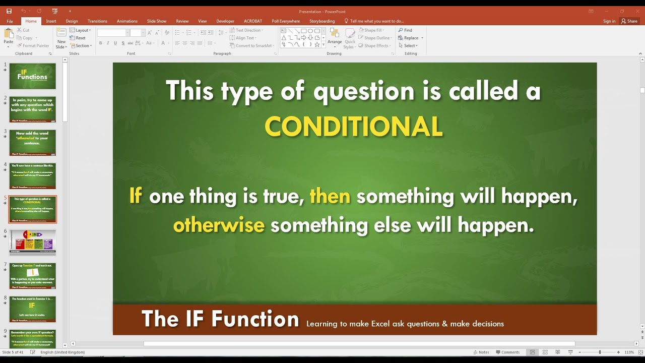 how to add powerpoint slide to word document