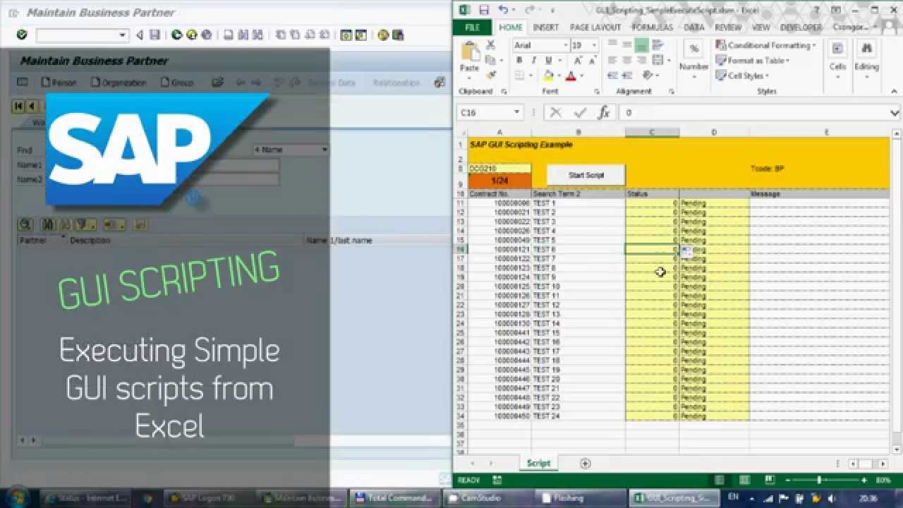 turn a picture document to excel