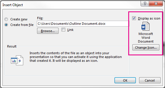 insert picture into word document