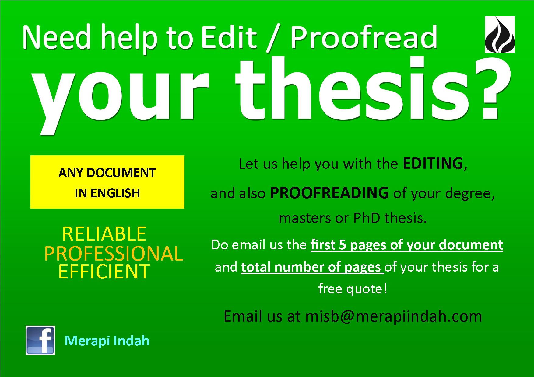 how to proofread a document