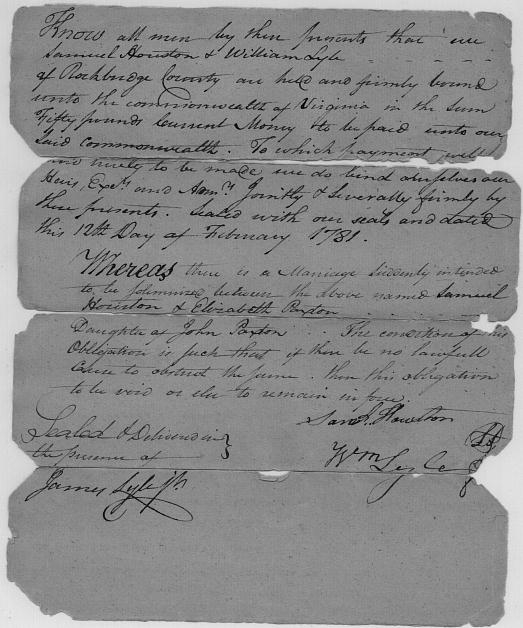 john and jacyln hill marrage document