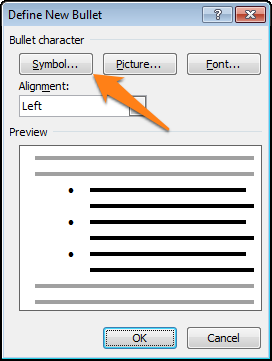 insert list of check boxes in word document
