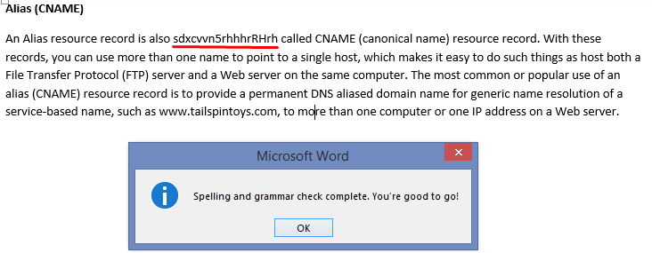 spell check word document online