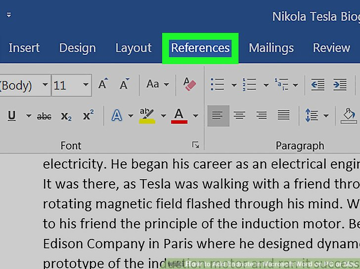 add comment to word document mac