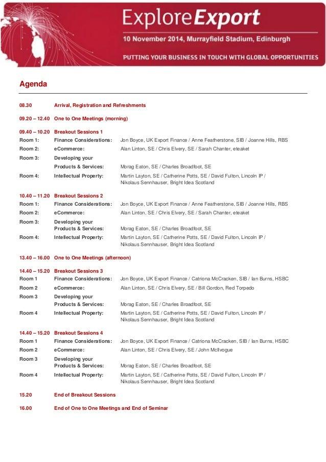 relevant documentation on meetings