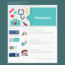 pharmacy database management system project documentation