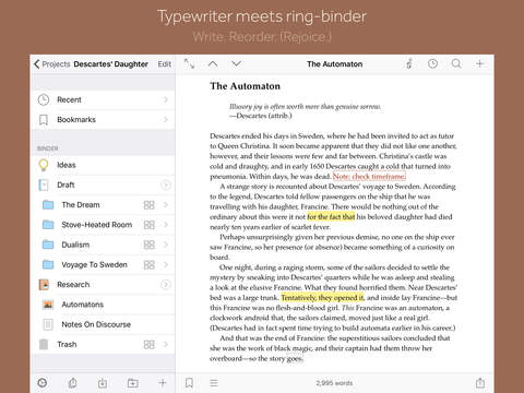 saving a word document into a novel format