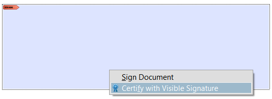 adobe acrobat sign document blank
