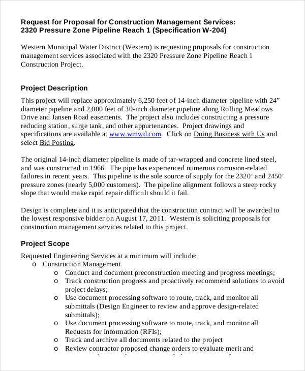 how to make a document for a project