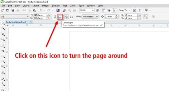 corel x8 document colours missing botton page