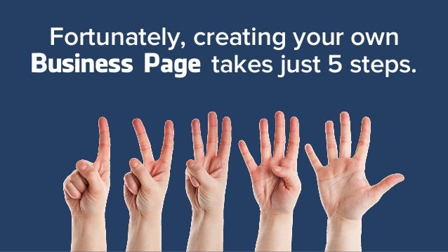 how to create a 5 pge document about your business