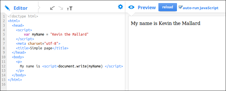 how to create html document