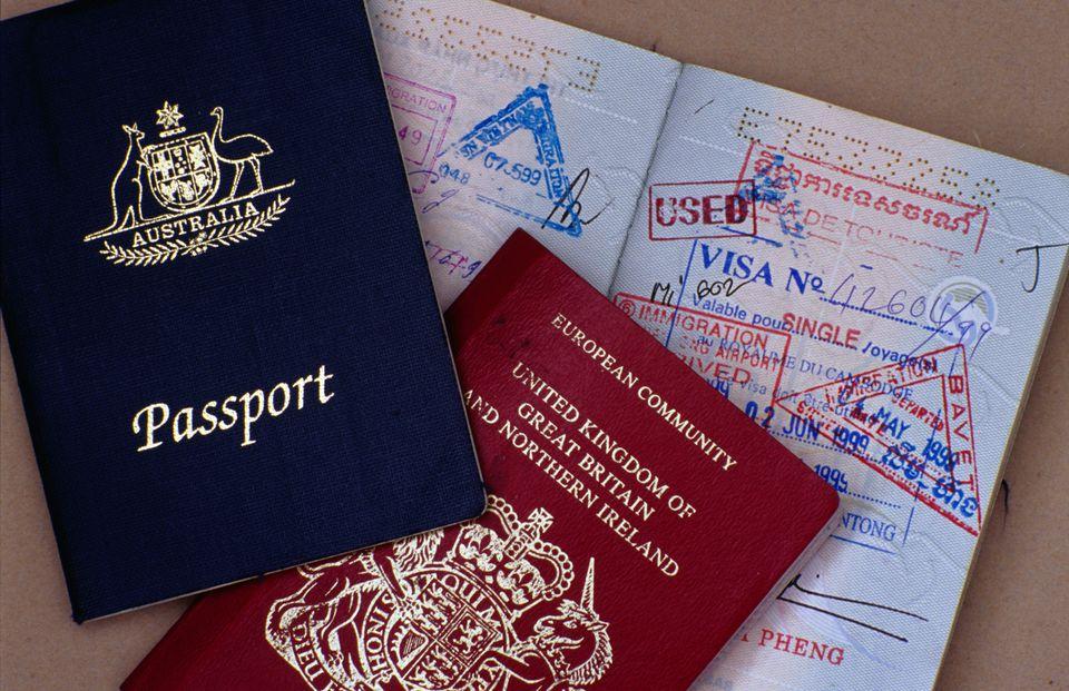 refugee travel document australian visa