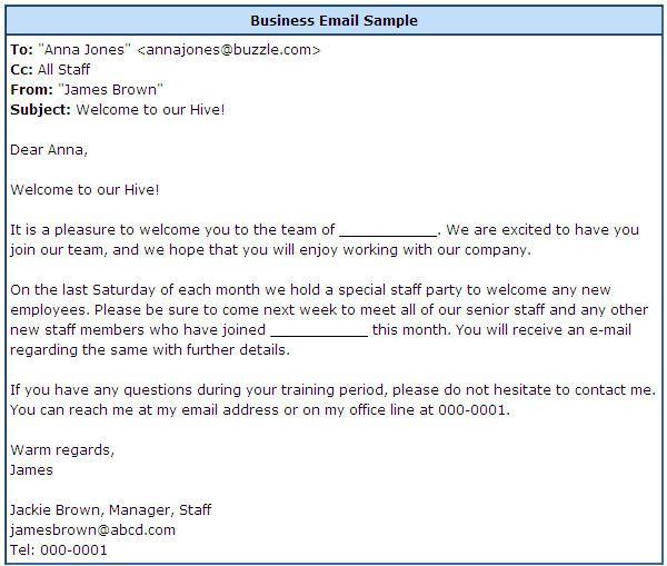 business email templtae request document
